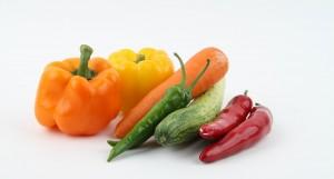 verduras en las dietas sanas