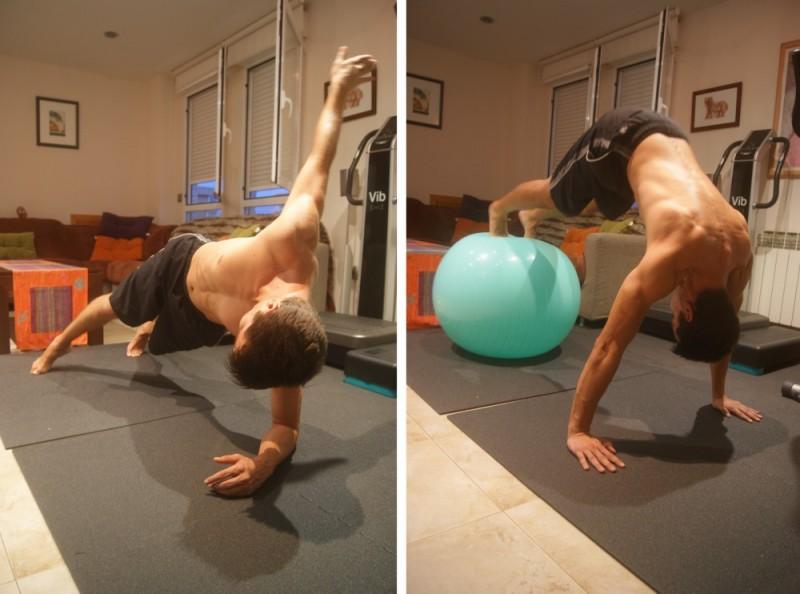 Abdominales para adelgazar la barriga