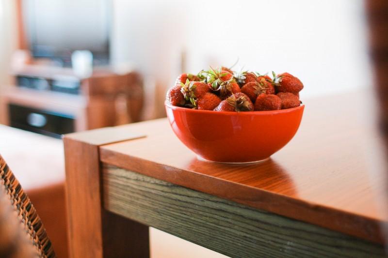 dieta detox fresas